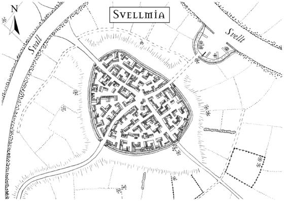 Karte von Svellmia