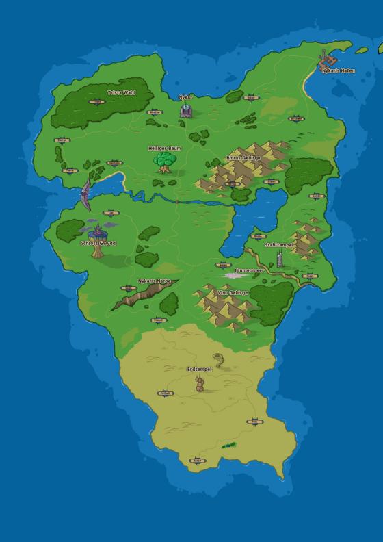 Der erste Kontinent Nykaris