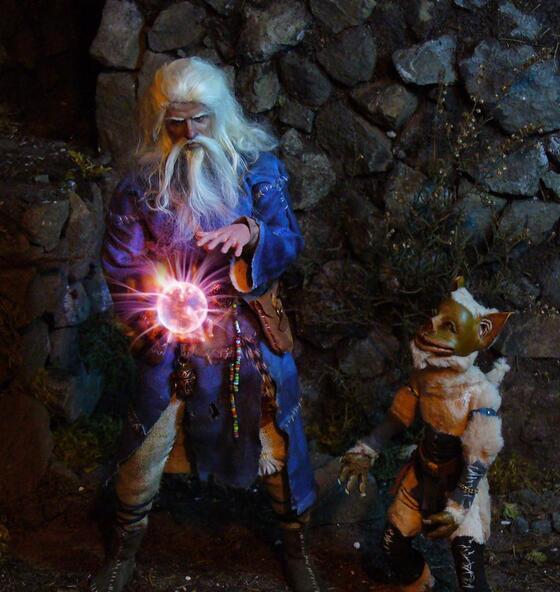 Der Zauberer und sein Diener