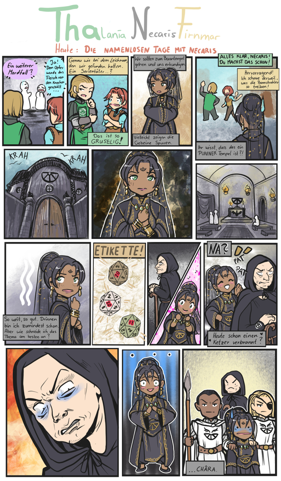 Minicomic: ThaNF - Die namenlosen Tage mit Necaris