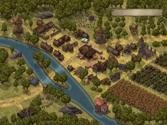 Mittelreichisches Dorf