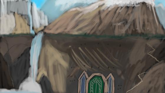 Das Eiserne Tor zu Xorlosch (90 Min Speedpaint)