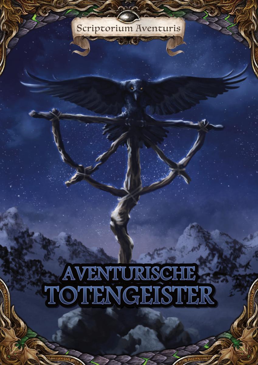 """Cover von """"Aventurische Totengeister"""""""