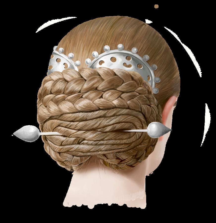Frisur einer Zwergin