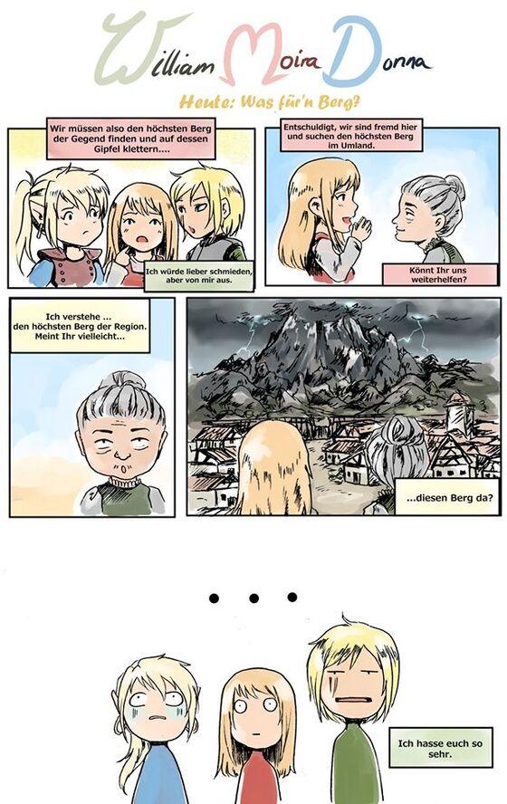 Minicomic: WMD - Was für'n Berg?
