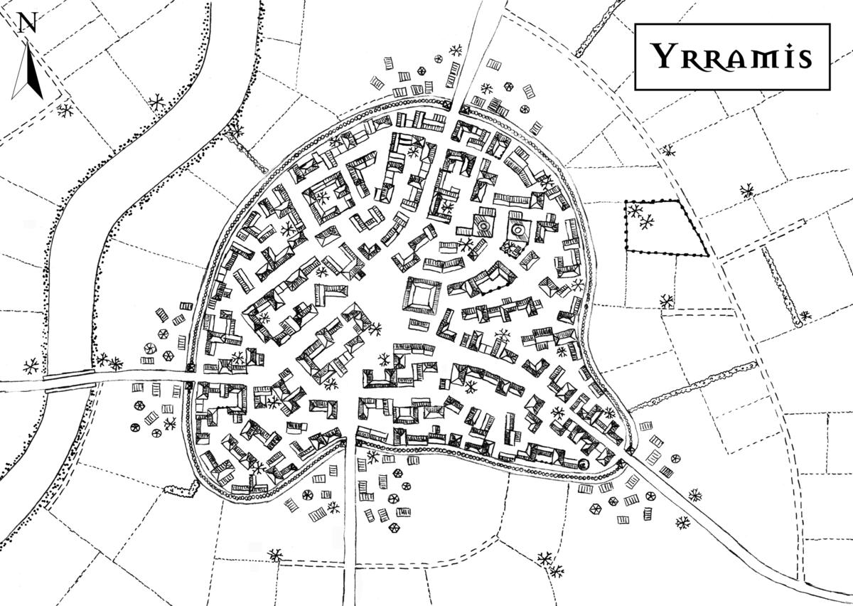 Karte von Yrramis