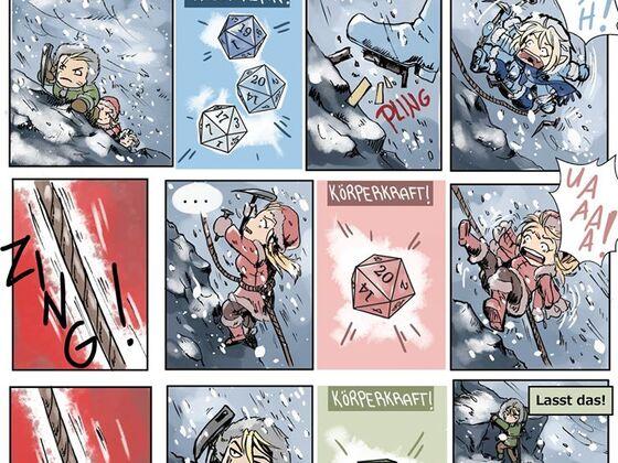 Minicomic: WMD - Die Geschichte vom Klettern I