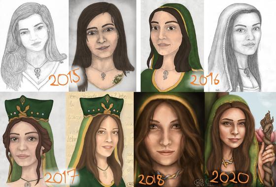 Sarafina über die Jahre