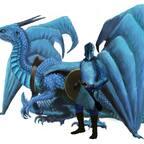Myranor: Drachenreiter und Westwinddrache