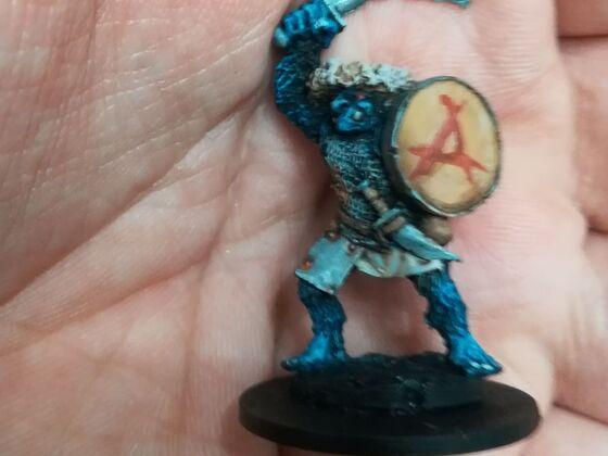 Neue Farbe auf meinen alten DSA/Armalion-Orks