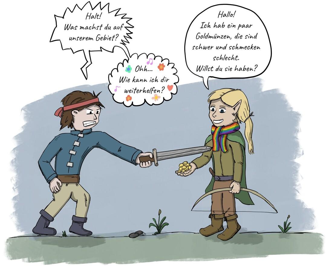Was Elfen mit Dukaten anfangen können...